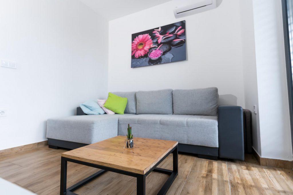 Apartma Sivka dnevni prostor